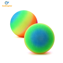 LeadingStar 8 Inch Rainbow Playball Foam Playground Kickball for Playing Yoga, Training, Sports, Toy Soccer Ball for Kids zk30