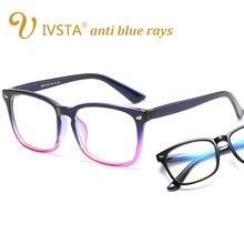 IVSTA Blue Light Gaming Óculos Homens Mulheres Óculos de Lentes Ópticas anti  raios azuis Computador Óculos para proteção do comp. 384b3e25ee
