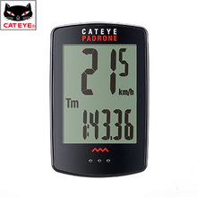 CATEYE Largest Display Bicycle Computer Wireless Padrone Cycling Speedometer Stopwatch Bicycle Accessories CC-PA100W Padrone