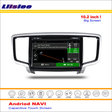 Liislee Car Android GPS NAV NAVI Navigation System For Honda For Odyssey 2015~2016 Radio Audio Video Multimedia ( No DVD Player(China)
