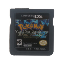 Nintendo NDS Video Game Cartridge Console Card Pokemon Series Black 2 USA English Language Version(China)