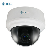 SUNELL 1080P CCTV Camera, Video IP Camera Indoor Network Dome Excellent Low Light Performance POE Support