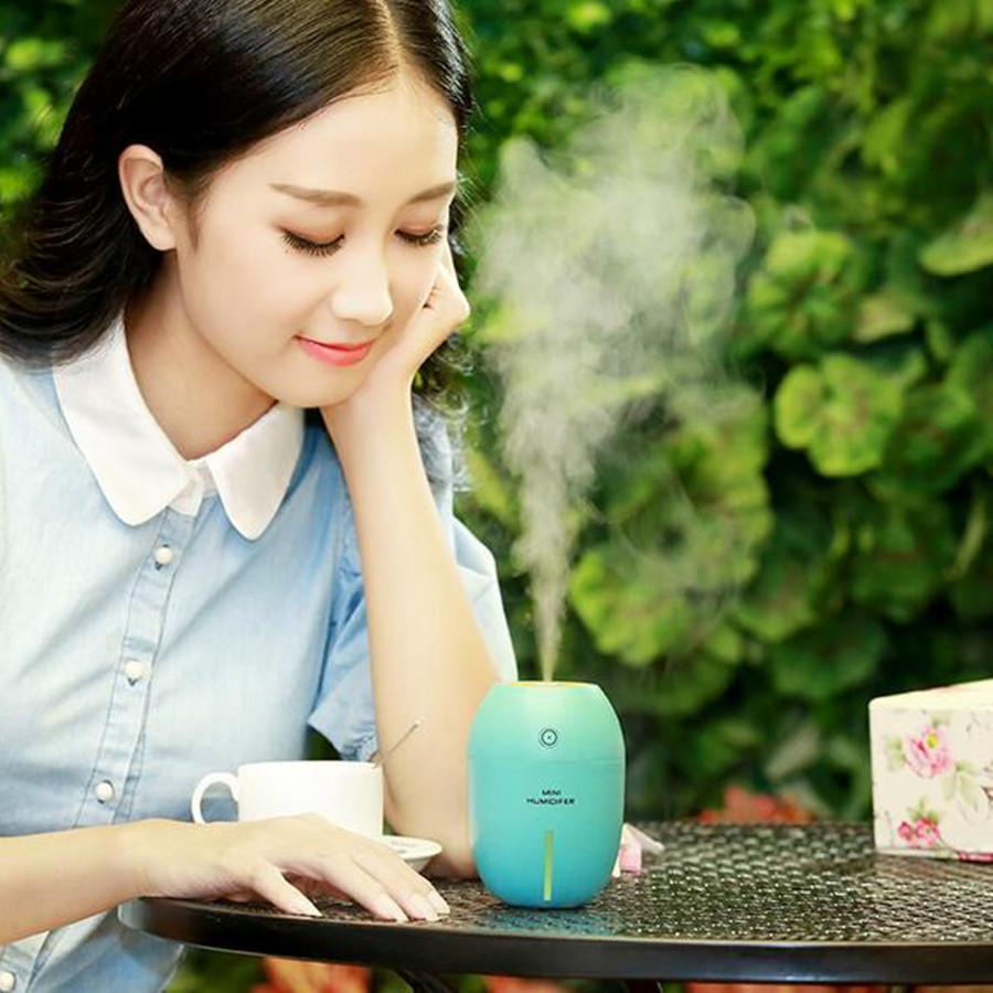 DC 5V USB Air Humidifier With Colorful Led Light Essential Oil Aroma Diffuser Auto Off Touch Switch ultrasonic Air Humidifier<br><br>Aliexpress