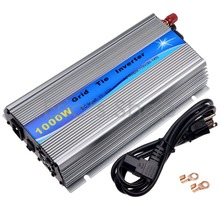 1000W Grid Tie Inverter DC20V-45V to AC110V Pure Sine Wave Power Inverter 24V/36V For 60cells/72cells Panel With MPPT Function