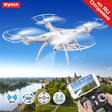 Syma X5SW RC Drone With Camera HD Wifi FPV Real-time Transmission Remote Control Helicopter Quadcopter Aircraft Toys For Boys(China)