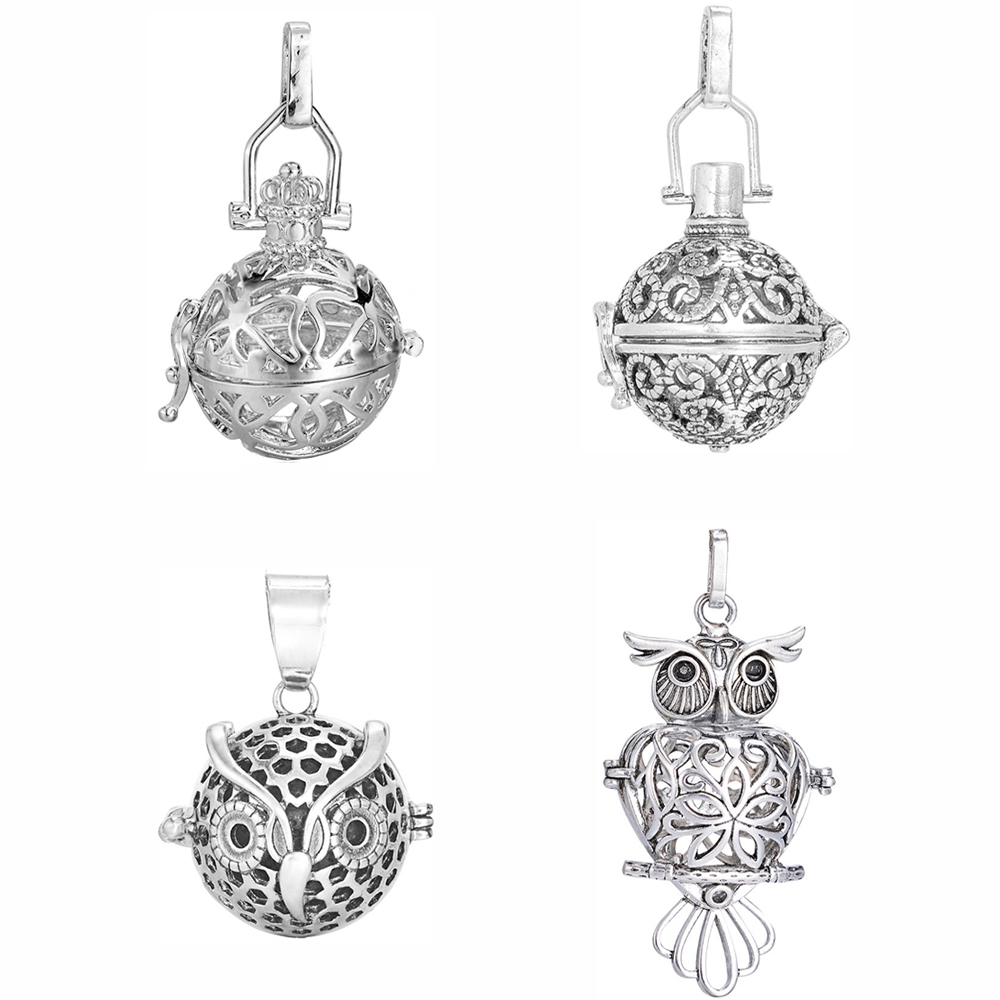 5pcs-Hollow-Ball-Box-Copper-Vintage-Cage-Diffuser-Necklace-Locket-Pendants-For-DIY-Essential-Oil-Perfume