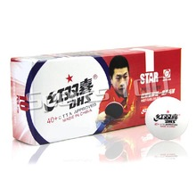 10x DHS 40+ New Materials 1-Star 1 Star 1Star White Table Tennis PingPong Balls 2015 Factory At a loss Direct Selling(China)