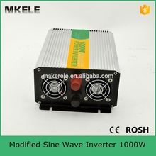 MKM1000-122G modified sine wave 1000w 110v 220v inverter 12vdc to 220vac 1000w inverter off grid inverters for sale