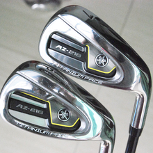 Cooyute New mens Golf clubs AZ-218 Golf irons set 4-9.P.S irons clubs with Graphite golf shaft free shipping(China)