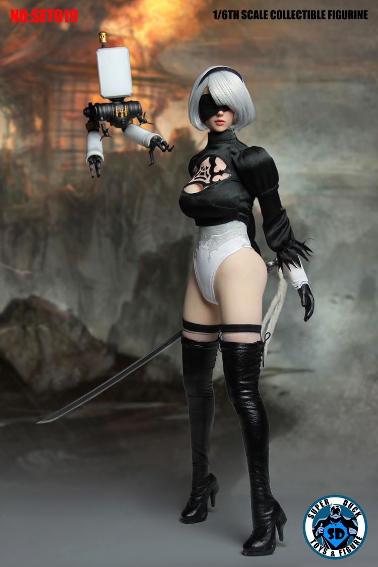 "SUPER DUCK 1//6 Scale Neil 2B Dress model F12/"" PH Female Action"