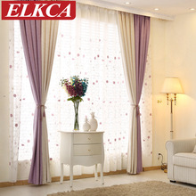 Elegant Color Block Thick Faux Linen Curtains for Living Room Bedroom Curtains Modern Window Curtains Drapes Custom Made