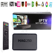 Anewkodi Best Linux Mag250 IPTV Box Set Top Box Support USB WiFi IPTV Account Sweden France UK Arabic Mag 250 Media Player