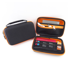 Waterproof portable external hard drive case with zipper 2.5 inch hard disk bag case bag hdd cover 2.5 hdd organizer(China)