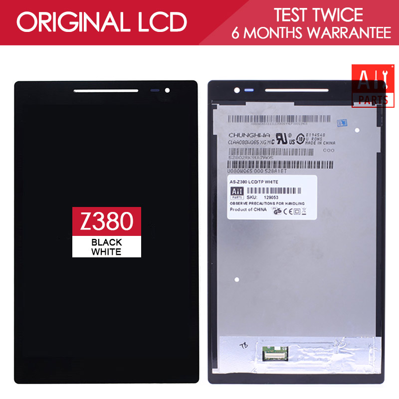 100% Tested 8.0 inch IPS 1280x800 Display For Asus ZenPad Z380 LCD Z380C Z380KL Display with Touch Screen Digitizer Assembly<br><br>Aliexpress