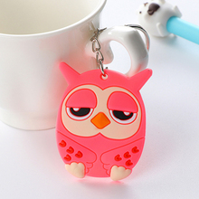 suti Cartoon PVC Keychain Pokemon Mini Figure pendants charms collection toy Key Ring Originality Key chain(China)