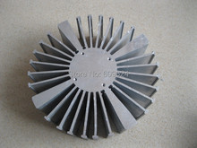 Led heatsink 50w aluminum heatsink LED cooler  radiator diameter : 160mm