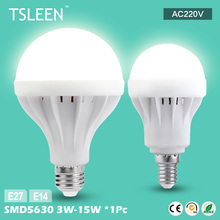 11.11 Big Sale +Cheap+ E27 E14 Energy Save LED Bulb Light 3/5/7/9/12/15W Cool Warm White 220V Lamp