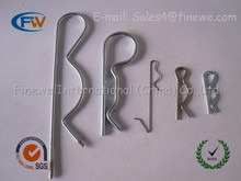 Manufacture Custom Spring Cotter Pin, best price Spring Locking Cotter Pin, R clips