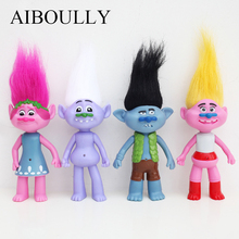 Kawaii Pet Magic Wizard Trolls Ugly Bobby Elf Princess Bran Blanche Stitching Dolls Environmental Protection Plastic Anime