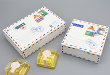 Paper cake Packaging Boxes Packaging for handmade cookies box Paper Carton box Wholesale 21*14*5cm 10pcs