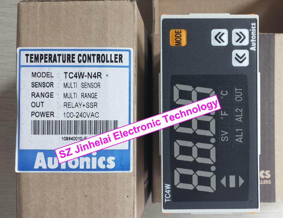 New and original   TC4W-N4R   AUTONICS  100-240VAC Temperature controller<br>