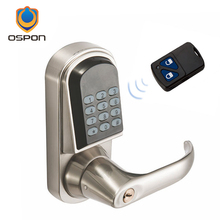 The new hot selling Europe and the United States zinc alloy remote control intelligent electronic door lock OS8015RM(China)