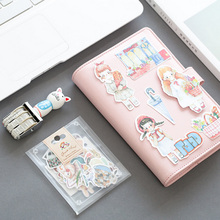 1 bag cartoon funny animals paper sticker package DIY diary decoration sticker planner album scrapbooking kawaii stationery(China)
