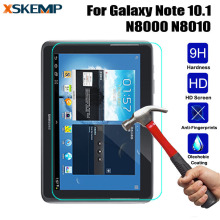 For Samsung Galaxy Note 10.1 N8000 N8010 Tablet Tempered Glass Screen Protector 0.3mm Super Clear Toughened Premium Guard Film