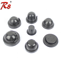Car Head Lamp Retrofitting Soft Rubber Waterproof Dustproof Cap Cover For HID or LED Headlight Installation 2PCS 100mm 90mm 80mm