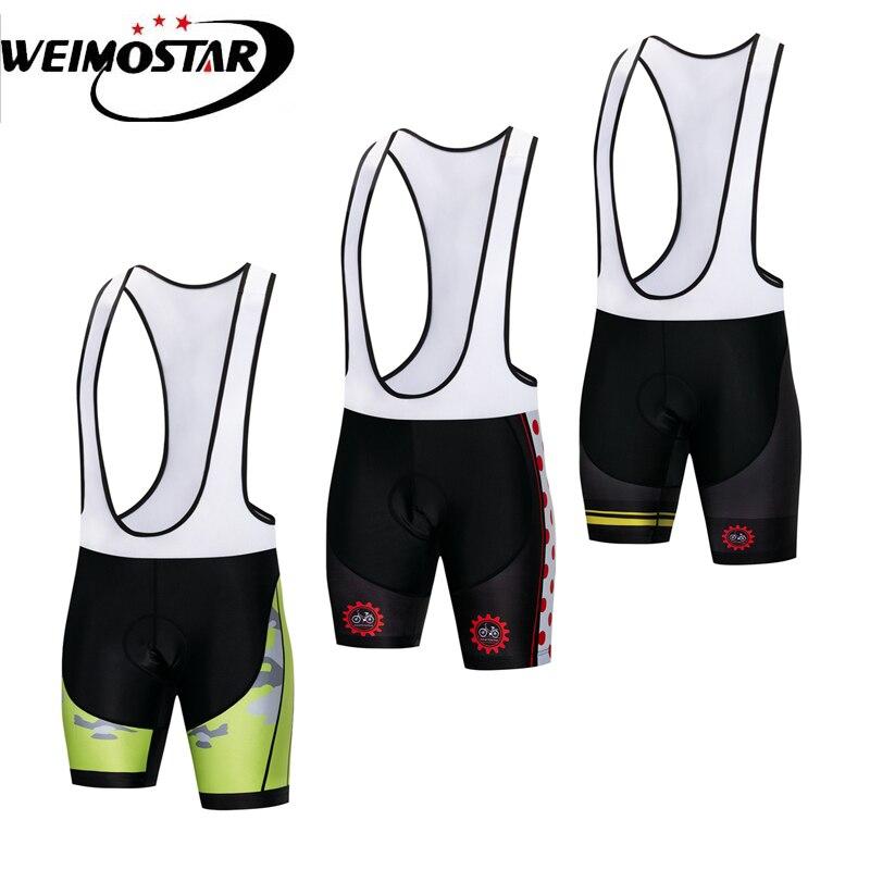 RION Mens Cycling Shorts Bike Capri Padded Tights Bicycle Pants