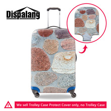 Dispalang Marble Pattern Elastic Stretch Luggage Protective Dust Covers For 18-30 Inch Suitcase Cover Fashion Travel Accessories