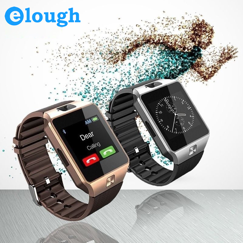 Elough Wearable Devices DZ09 Smart Watch Support SIM TF Card Electronics Wrist Phone Watch For Android smartphone Smartwatch<br><br>Aliexpress