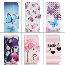 JOVO For Apple iPhone SE 5S 5 5se Fashion Cartoon Book Style Leather Flip Phone Case Cover with Wallet Card Slot(China)
