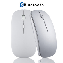 Wireless Tablet Mouse for Computer Android Tablets Windows PC Rechargeable Bluetooth Mouse for Macbook Acer Asus Lenovo Xiaomi