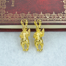 Buy 3pcs Gold color rabbit Charms Necklace Pendant Bracelet Jewelry Making Handmade Crafts diy Supplies 37*13mm 1557 for $1.35 in AliExpress store