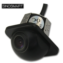 SINOSAMRT In Stock HD Universal Light Wing Mirror Side View Reversing Parking Camera Glass Lens  20mm Hole Mini Size Nice Shape