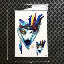 Online Get Cheap Henna Tattoo Wolf Aliexpress Com Alibaba Group