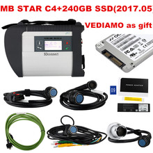 2017.05 mb star c4  WITH 240GB SSD win7 64WIN System Software DTS Monaco 8 + vediamo +xentry+DAS+EPC Complete super engineers