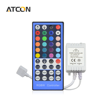 1Pcs 2.4G 4 Channels DC12V - 24V LED RGBW Controller Dimmer 40 Keys Remote Control For RGBW RGBWW 5050 SMD LED Strip light