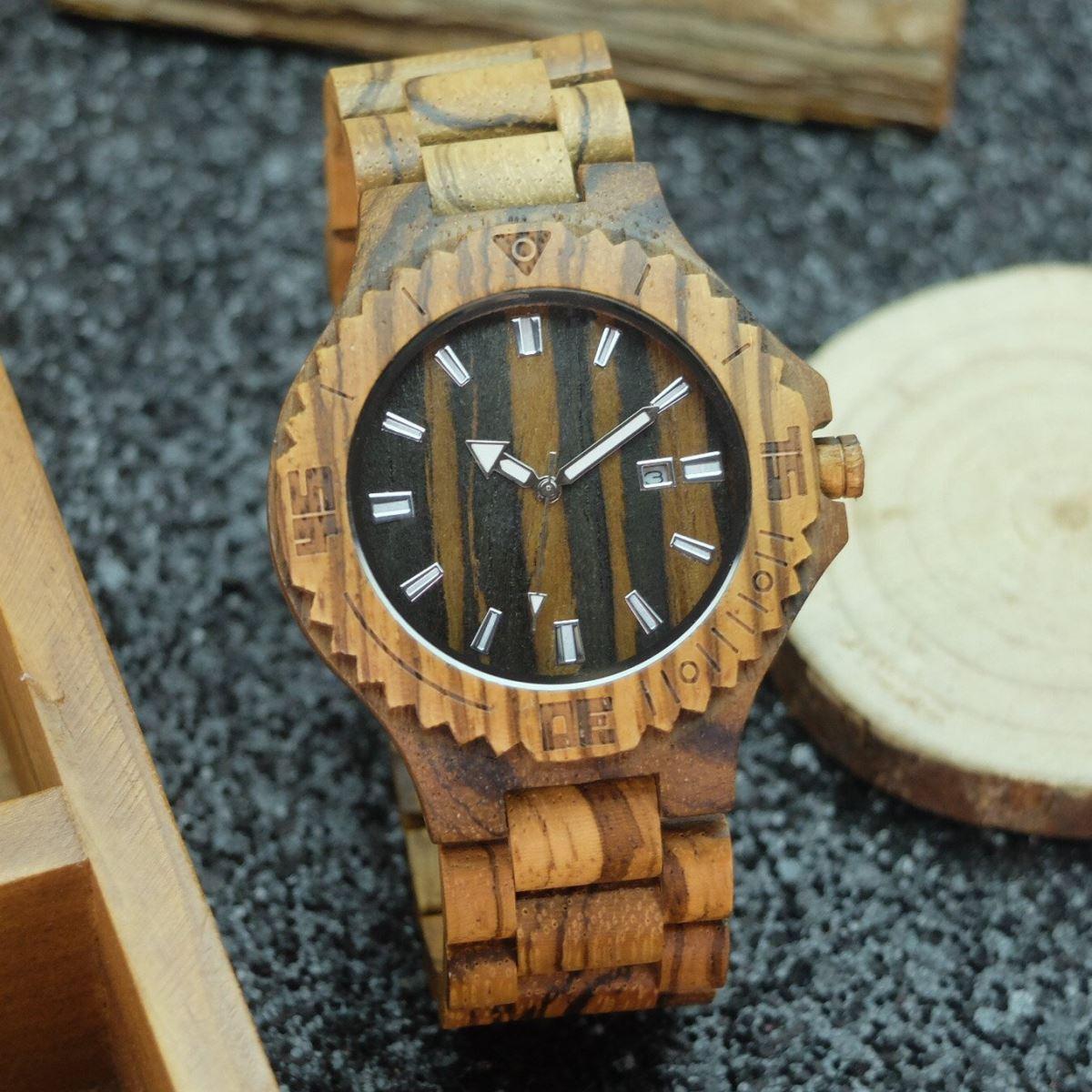 2018 Fashion Casual Wooden Quartz Watch for Men Women Calendar Luminous Pointers luxury wood dress Watches relogio<br>