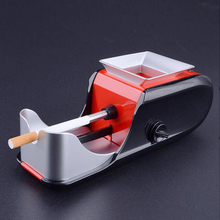 1pc Tobacco Electric Cigarette Rolling Machine Red/blue Rolling Filters Papers Tabac ROLLER