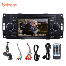 Seicane 2 Din DVD Player Radio Bluetooth GPS Sat Nav Head unit for 2002-2007 Dodge Dakota P/U Durango Support Backup Camera USB(China)