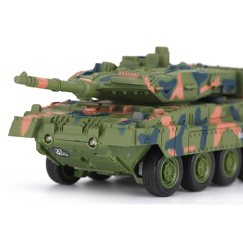 8020//8021 Mini 4CH Remote Control Battle Tank Car RC Military Model Toy Gift