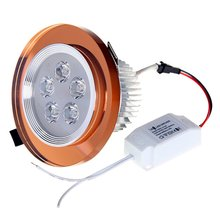 ICOCO Spirit Crystal Downlight With LED Source Round 5W Bronze 3000k 500lm(China)