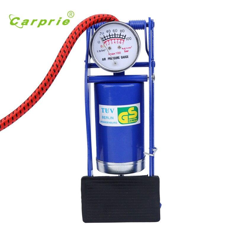 Foot Pump Air Pump Inflator Tire Bicycle Balls Portable Air Pump Bomba de chao Bomba de piso gift new drop shipping 17june15