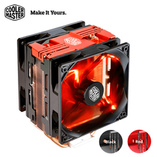 Cooler Master T400 Pro Computer CPU Cooler Dual 120mm fans LGA 2011 1150 1151 AMD AM4 Quiet Desktop PC CPU cooling radiator fan(China)