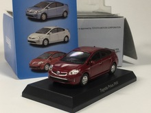 TOYOTA MiniCar Collection - kyosho 1:64 Toyata prius PHV Diecasts model car (red)