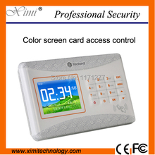 High speed color screen TCP/IP RFID card access control access control panel(China)