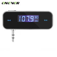 FM Transmitter MP3 Player Wireless Audio Music Radio LCD Diaplay Broadcasting 3.5mm Port for Car iPhone iPod Android Samsung(China)