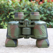 50X50 Camouflage Optical outdoor Telescope  Day Camping Travel Vision Scope binoculars hunting telescope tourism sports eyepiece